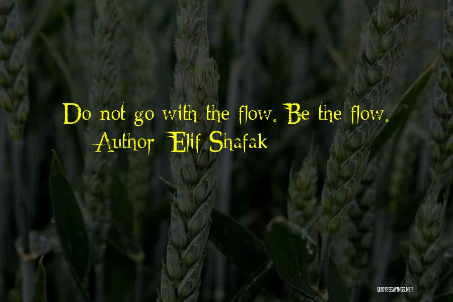 Go With The Flow Quotes By Elif Shafak
