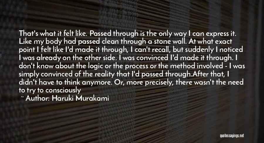 Go With The Flow Quotes By Haruki Murakami