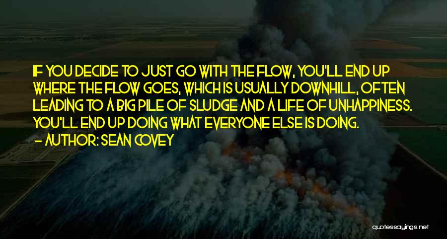 Go With The Flow Quotes By Sean Covey