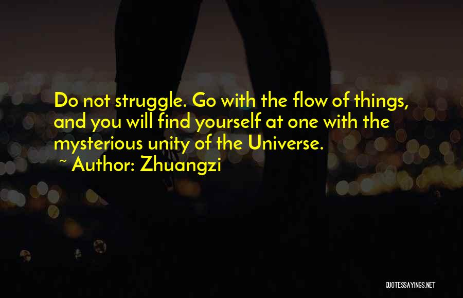 Go With The Flow Quotes By Zhuangzi