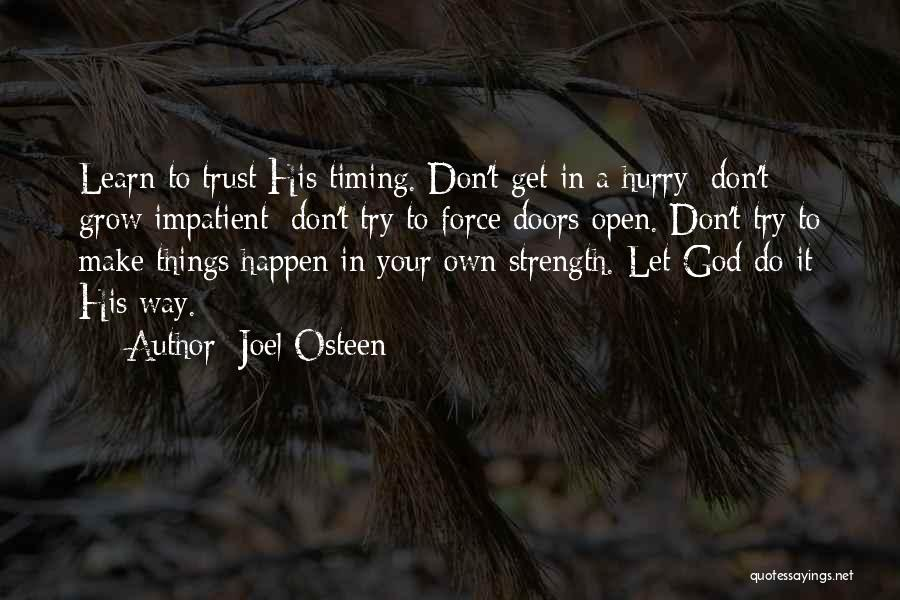Go Your Own Way Quotes By Joel Osteen