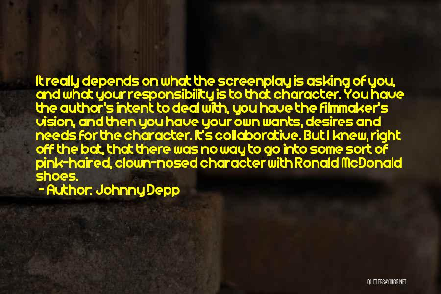Go Your Own Way Quotes By Johnny Depp