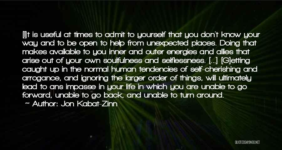 Go Your Own Way Quotes By Jon Kabat-Zinn