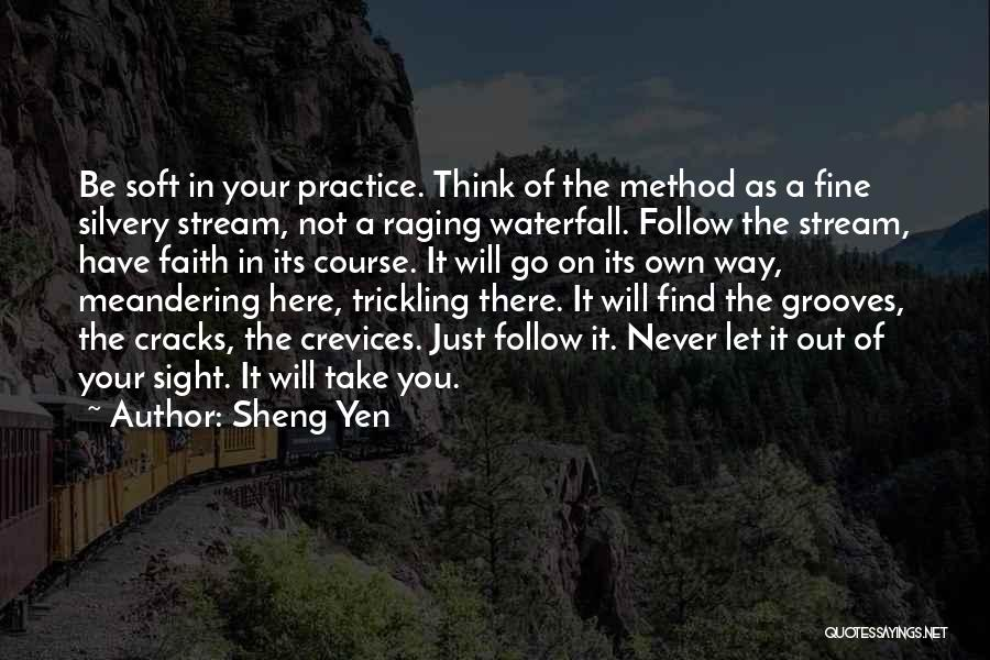Go Your Own Way Quotes By Sheng Yen