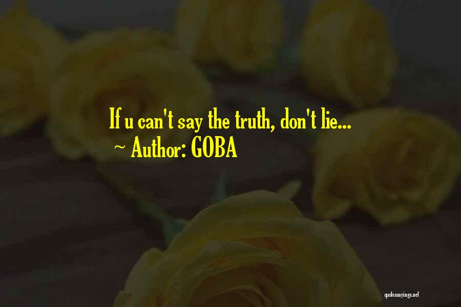 GOBA Quotes 2053272