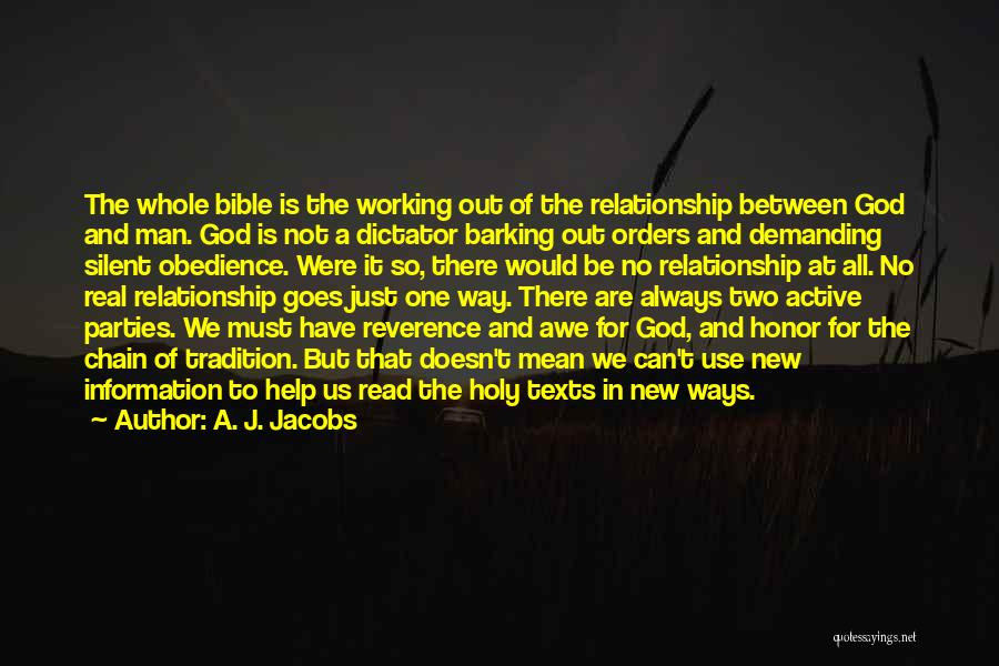 God Always Help Us Quotes By A. J. Jacobs