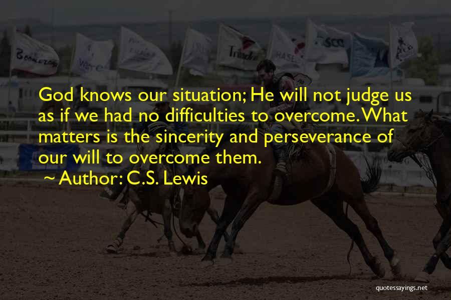 God And Hard Times Quotes By C.S. Lewis