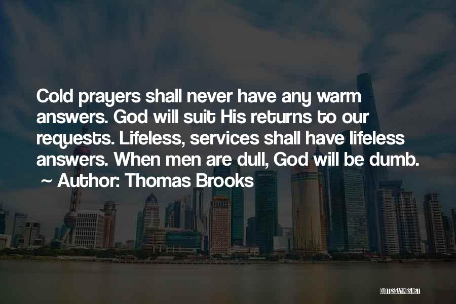 God Answers Prayers Quotes By Thomas Brooks
