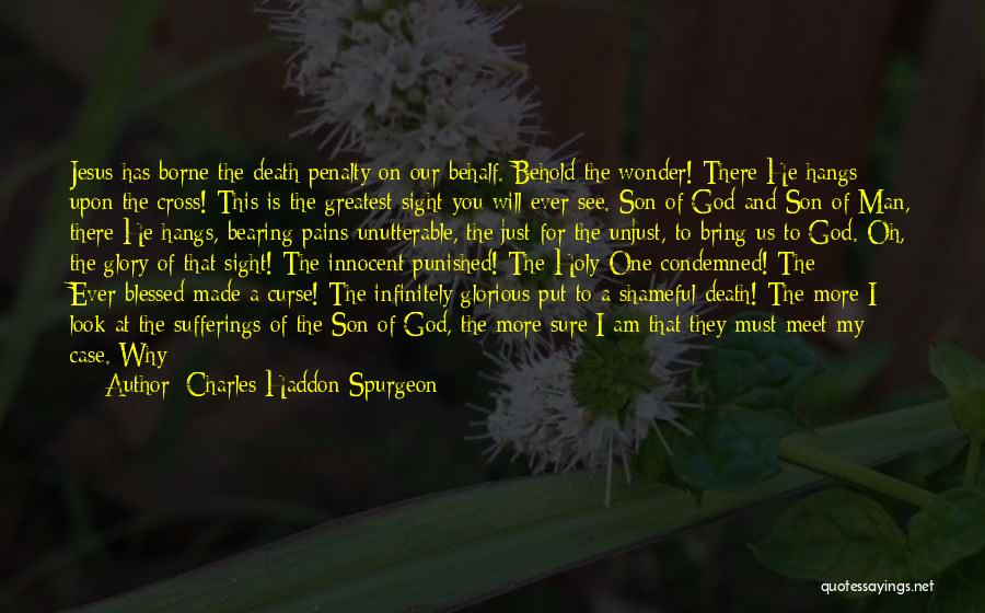 God Blessed Me With A Son Quotes By Charles Haddon Spurgeon