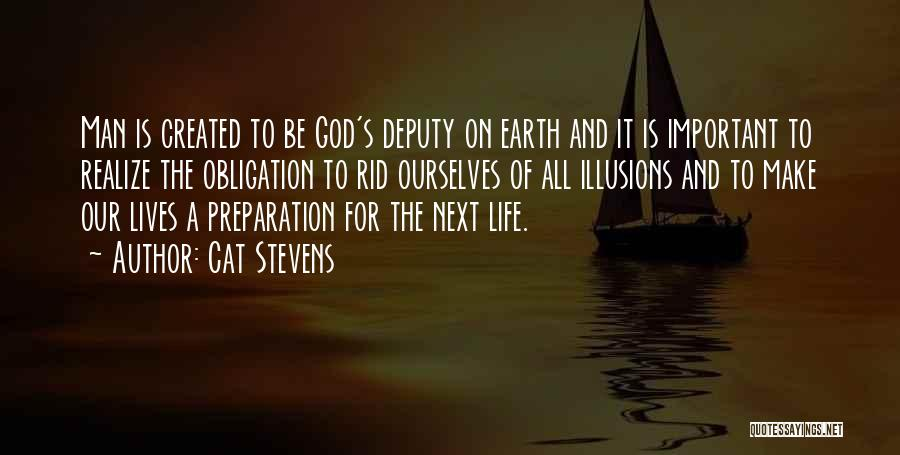 God Created Man Quotes By Cat Stevens