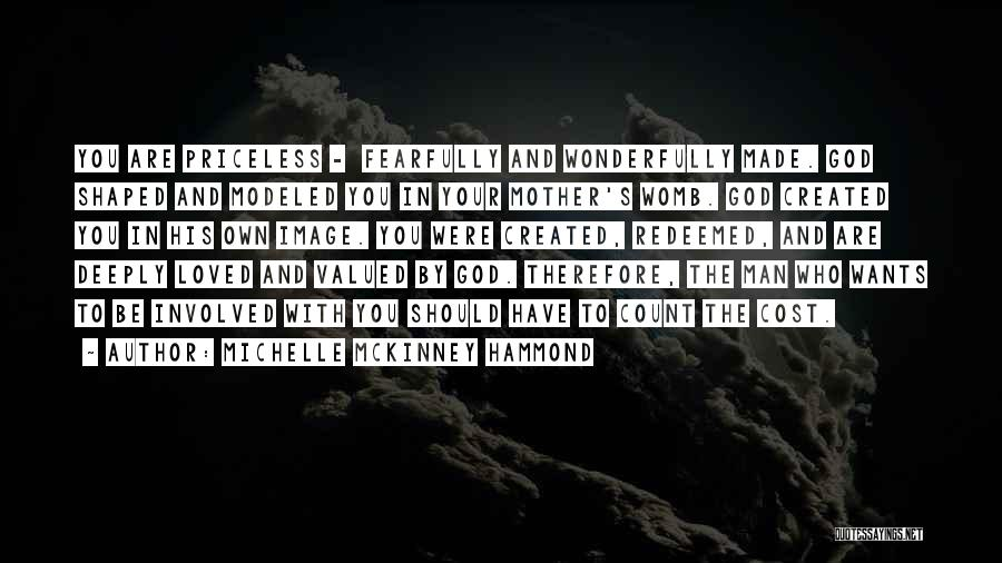 God Created Man Quotes By Michelle McKinney Hammond