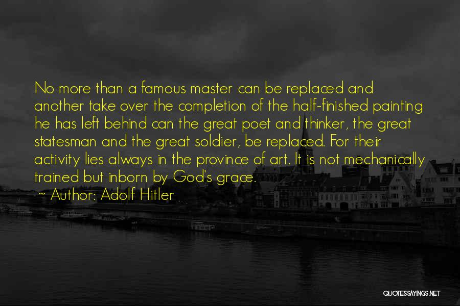 God Famous Quotes By Adolf Hitler
