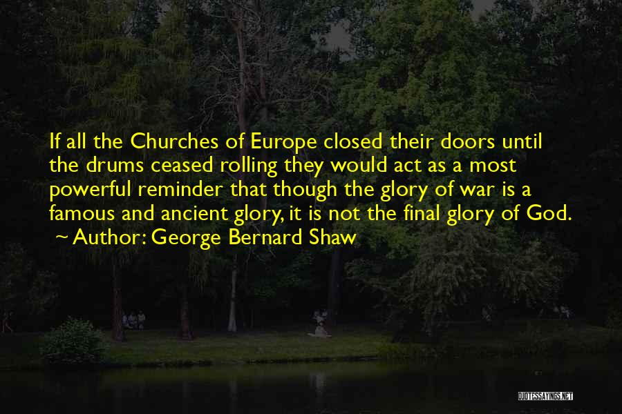 God Famous Quotes By George Bernard Shaw