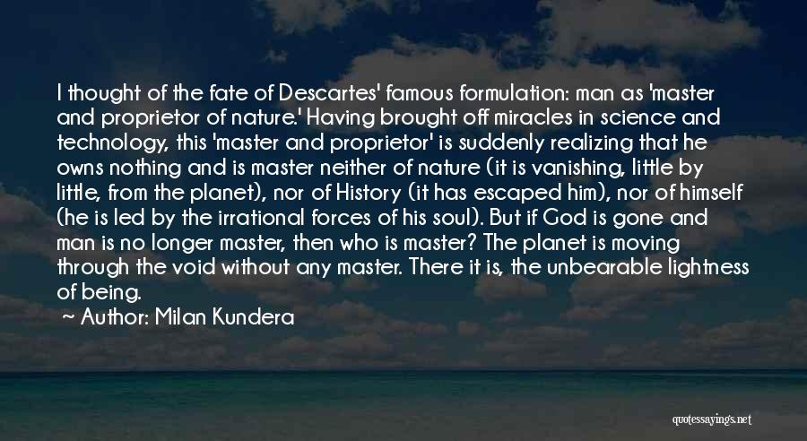 God Famous Quotes By Milan Kundera