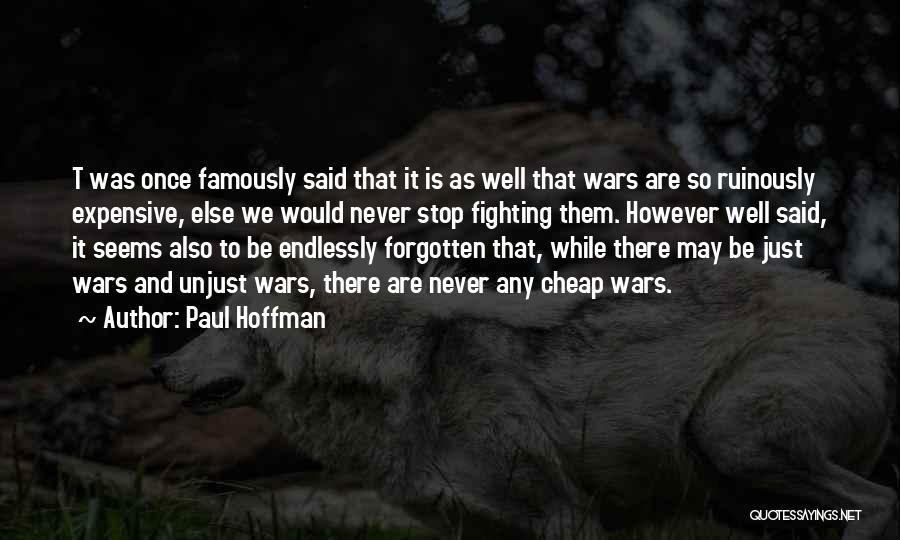 God Famous Quotes By Paul Hoffman