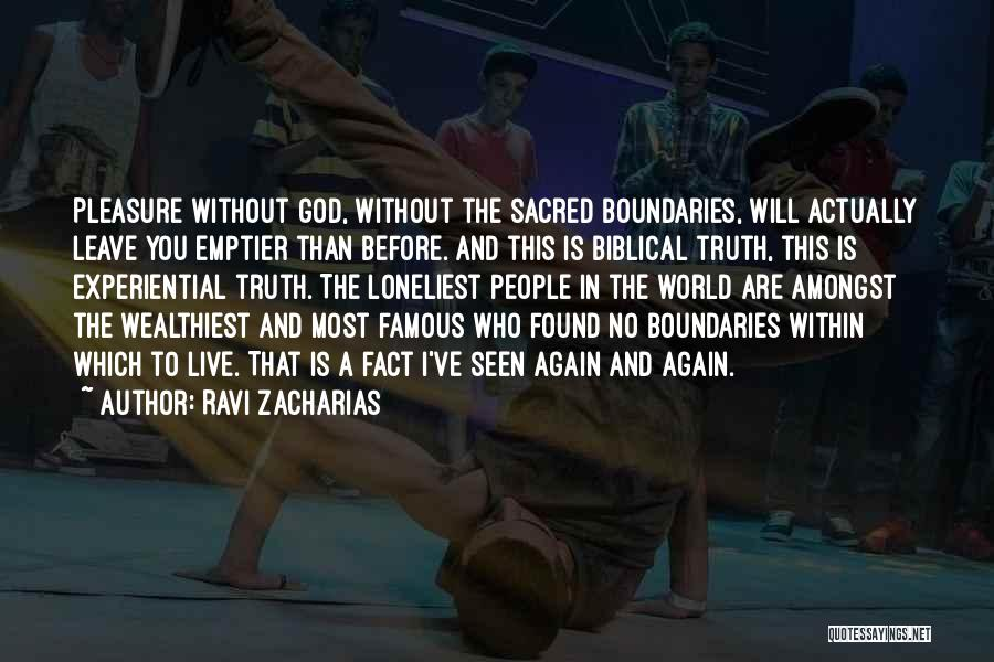 God Famous Quotes By Ravi Zacharias