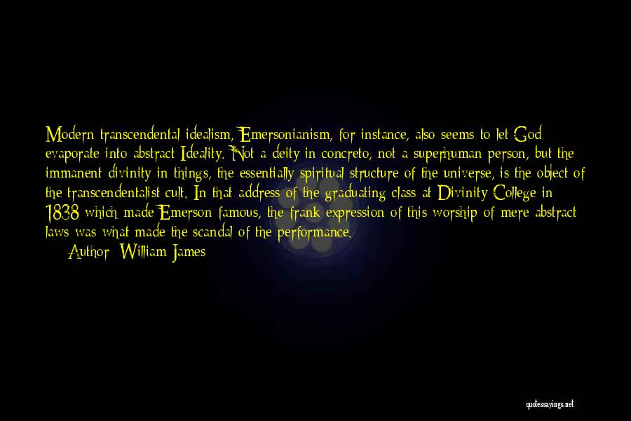 God Famous Quotes By William James