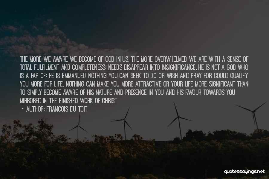 God Favour Quotes By Francois Du Toit