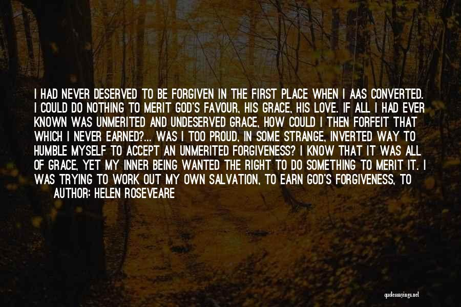 God Favour Quotes By Helen Roseveare