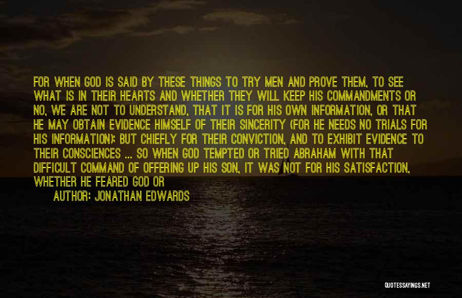 God Favour Quotes By Jonathan Edwards