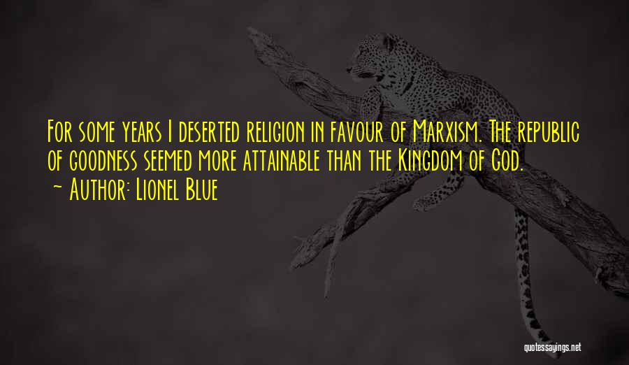 God Favour Quotes By Lionel Blue