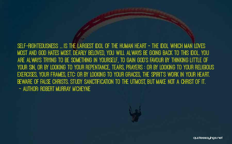 God Favour Quotes By Robert Murray M'Cheyne