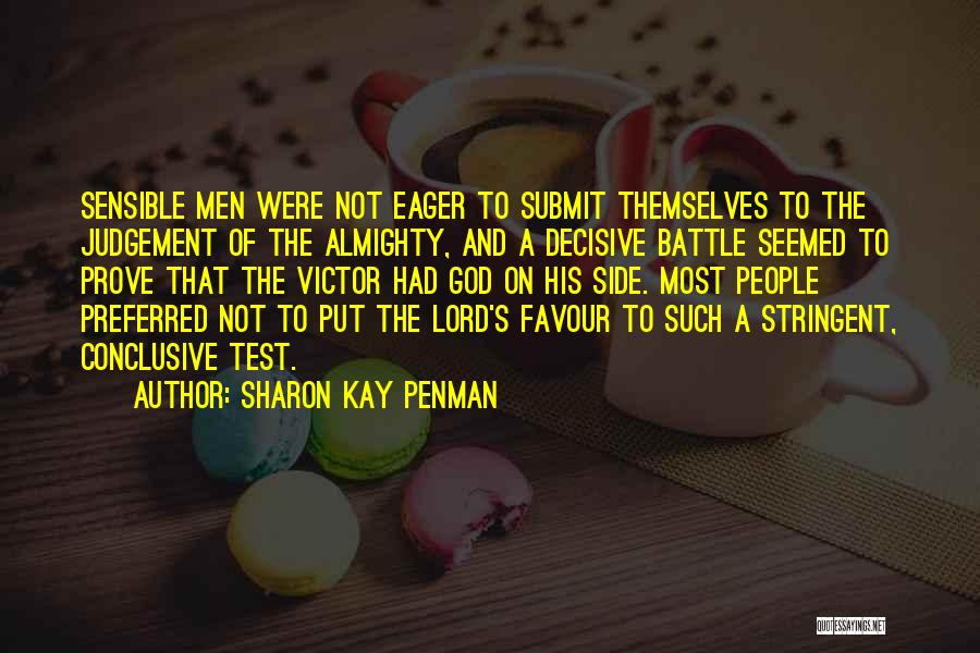 God Favour Quotes By Sharon Kay Penman