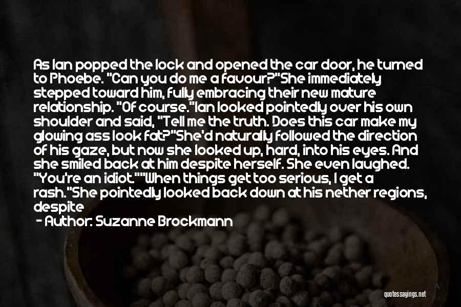 God Favour Quotes By Suzanne Brockmann