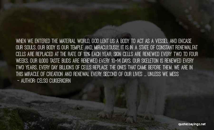God Gave Us Quotes By Celso Cukierkorn