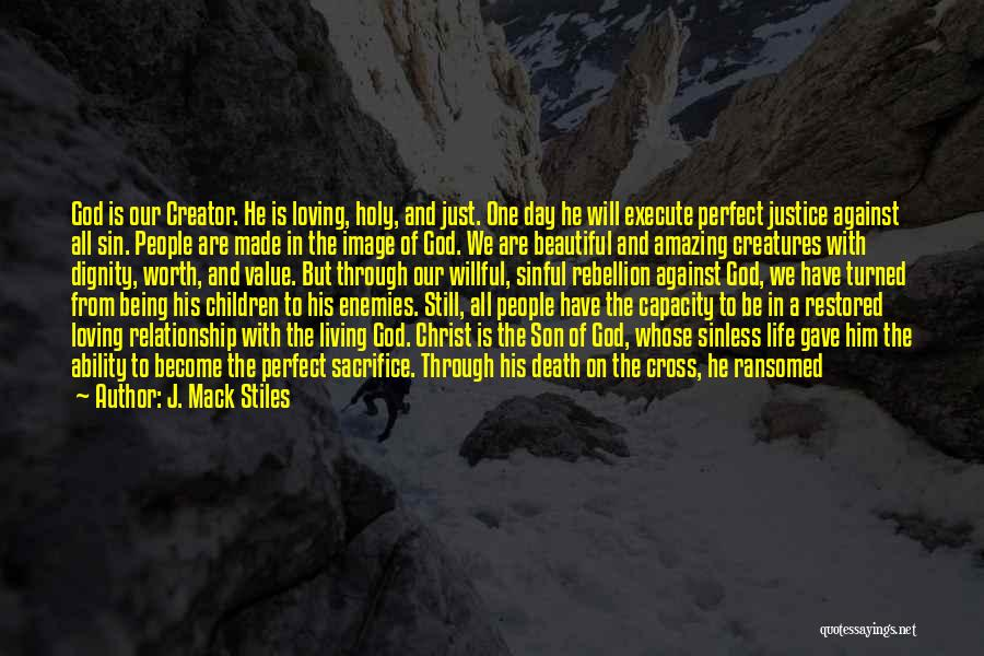 God Gave Us Quotes By J. Mack Stiles