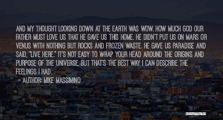 God Gave Us Quotes By Mike Massimino