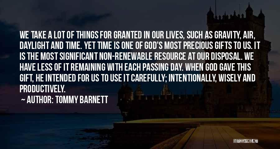 God Gave Us Quotes By Tommy Barnett