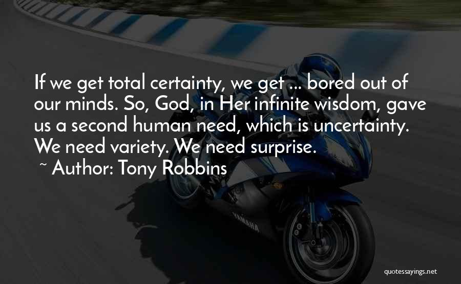 God Gave Us Quotes By Tony Robbins