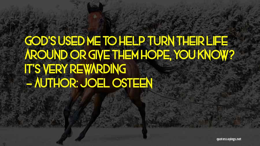 God Give Me Hope Quotes By Joel Osteen