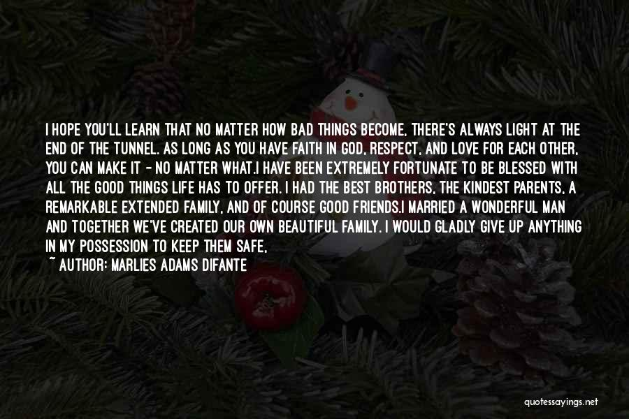 God Give Me Hope Quotes By Marlies Adams Difante