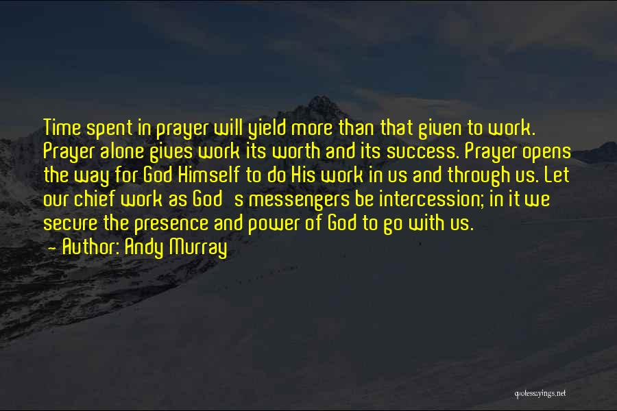 God Giving Success Quotes By Andy Murray