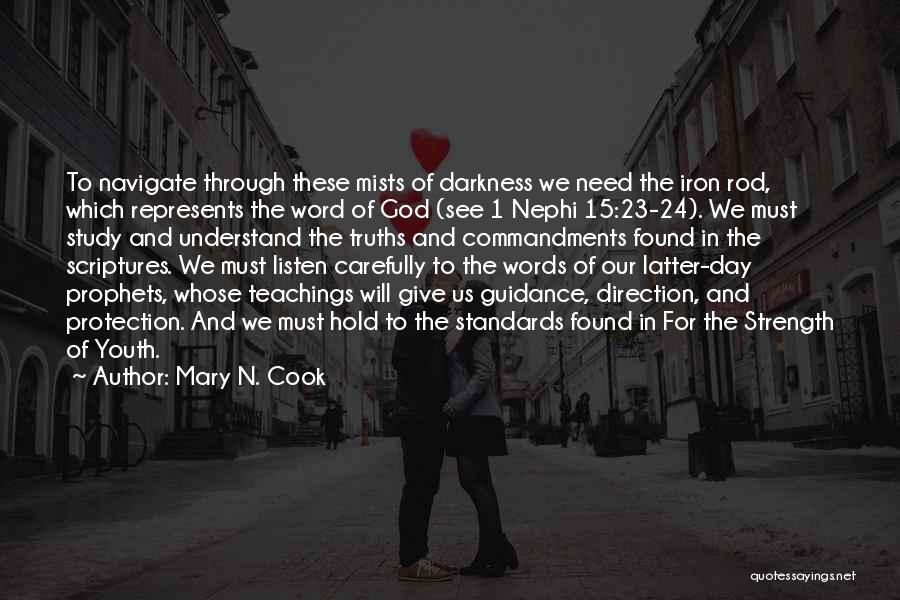 God Giving Us Strength Quotes By Mary N. Cook