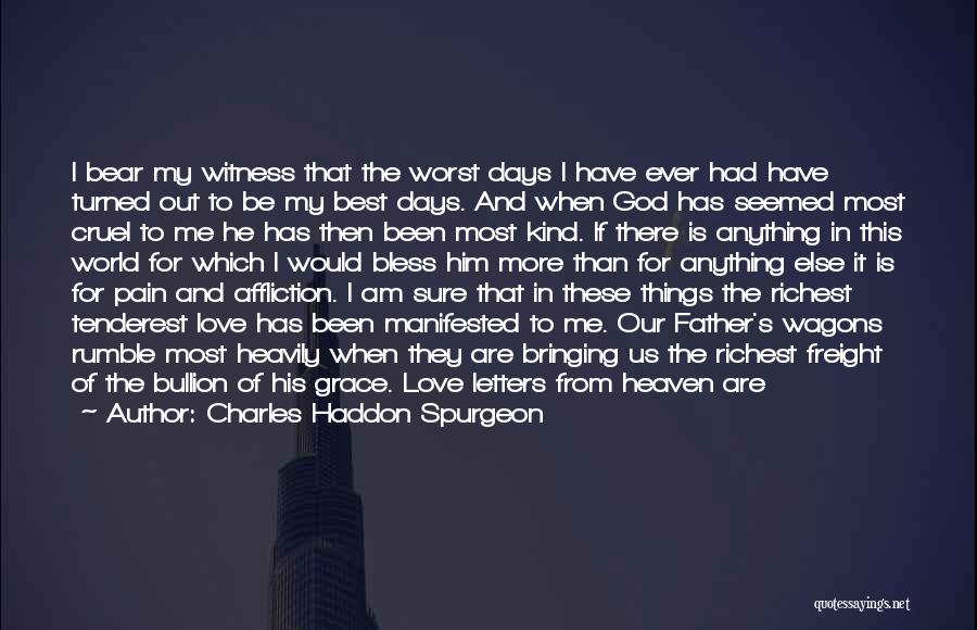 God Grace And Love Quotes By Charles Haddon Spurgeon