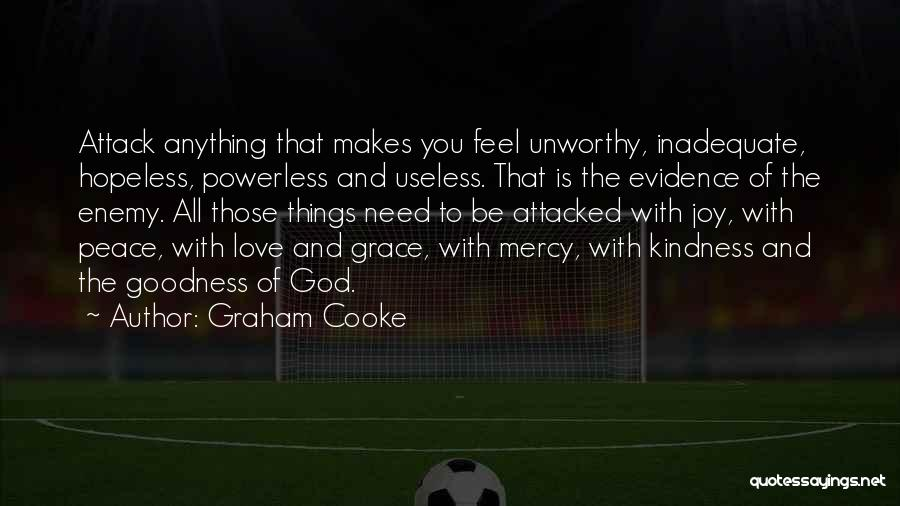 God Grace And Love Quotes By Graham Cooke