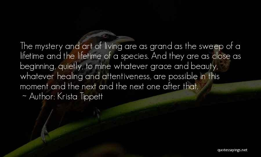 God Grace And Love Quotes By Krista Tippett