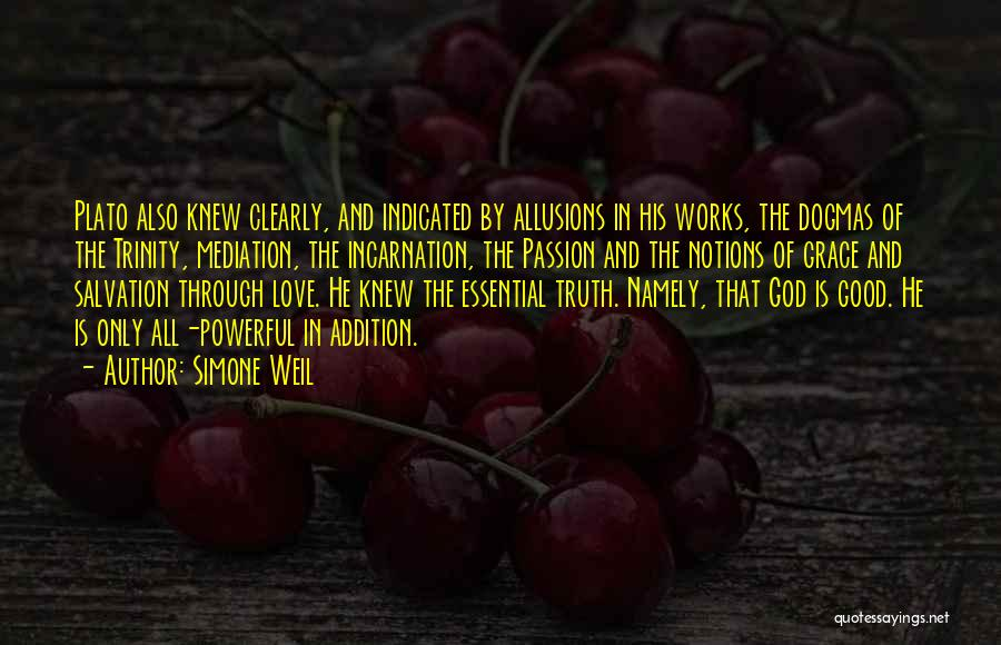 God Grace And Love Quotes By Simone Weil