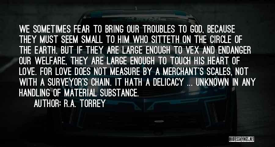 God Handling Things Quotes By R.A. Torrey