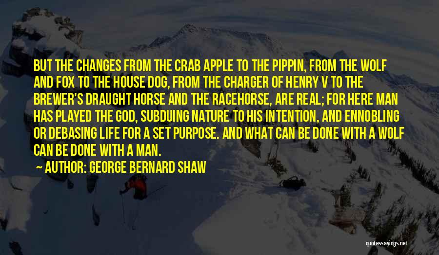 God Has A Purpose Quotes By George Bernard Shaw