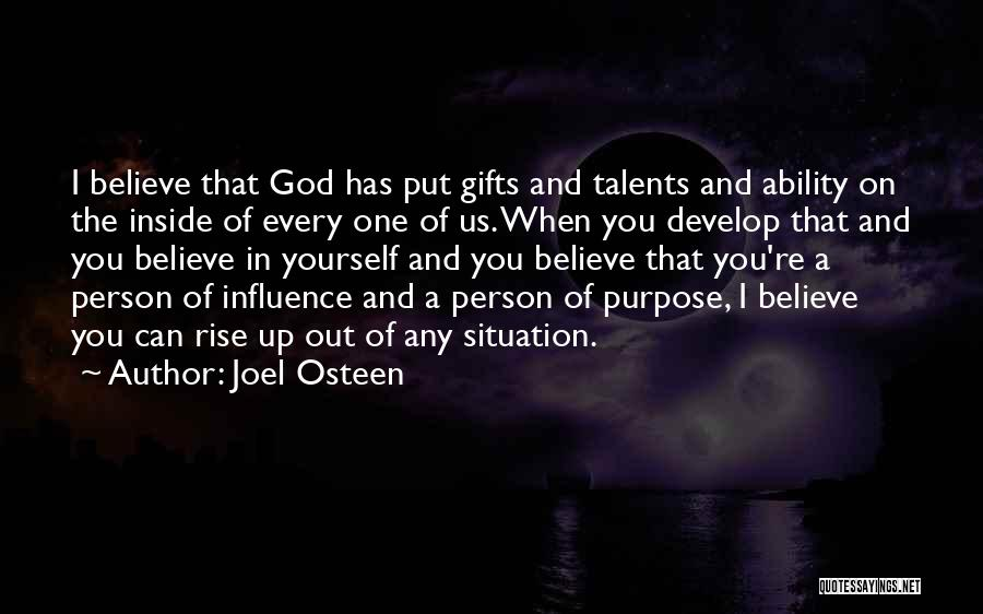 God Has A Purpose Quotes By Joel Osteen
