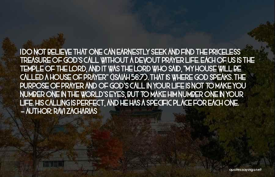 God Has A Purpose Quotes By Ravi Zacharias