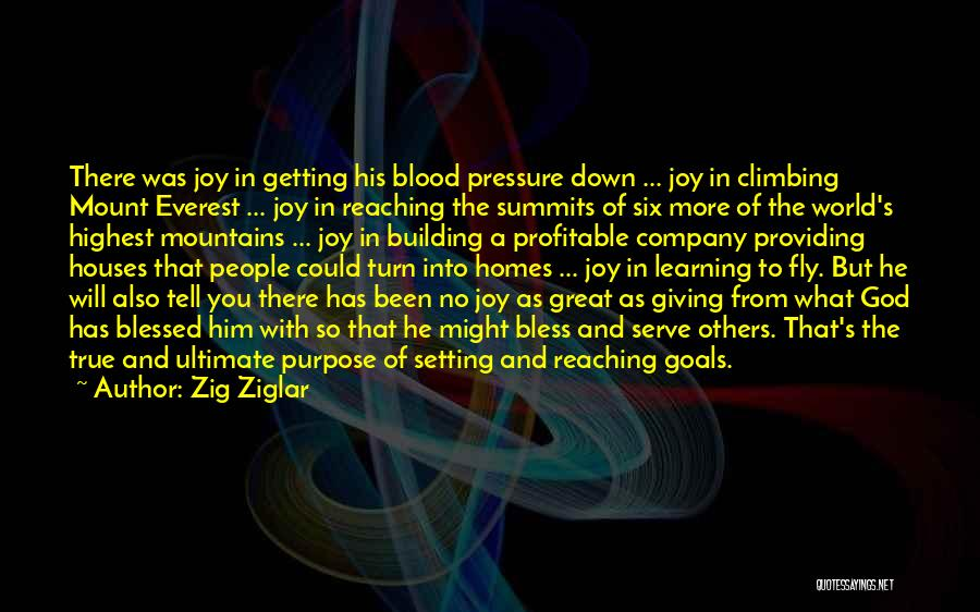 God Has A Purpose Quotes By Zig Ziglar