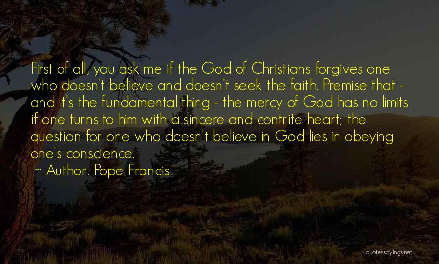 God Has No Mercy Quotes By Pope Francis