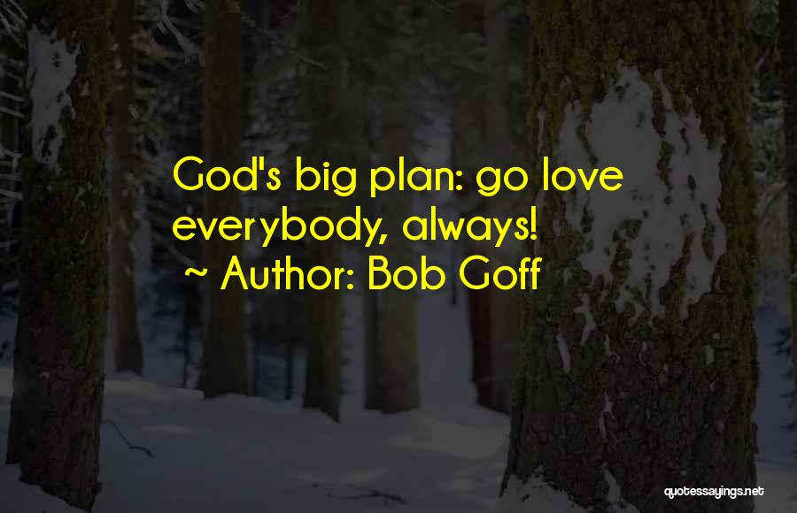 God Has Plans For You Quotes By Bob Goff