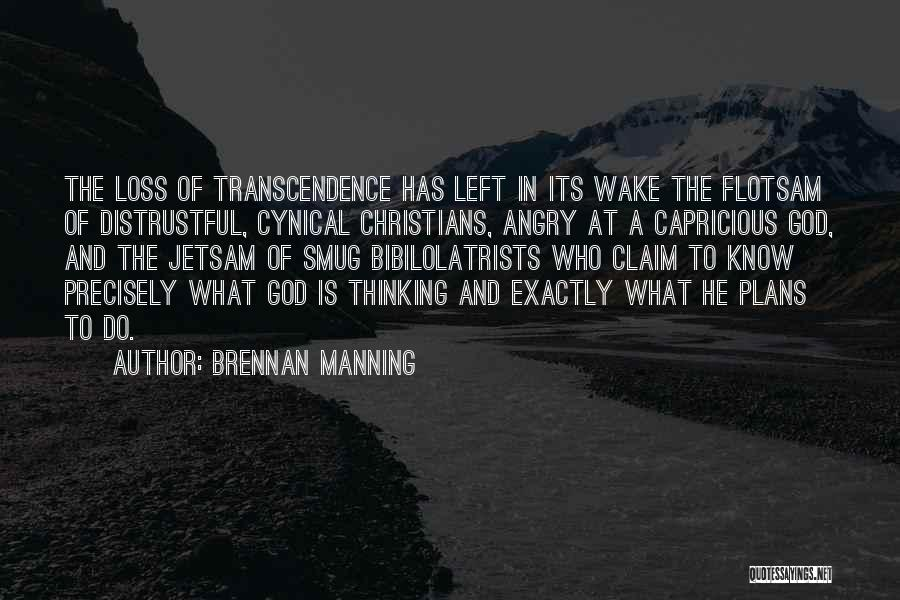 God Has Plans For You Quotes By Brennan Manning
