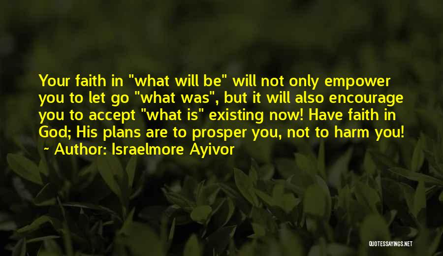 God Has Plans For You Quotes By Israelmore Ayivor